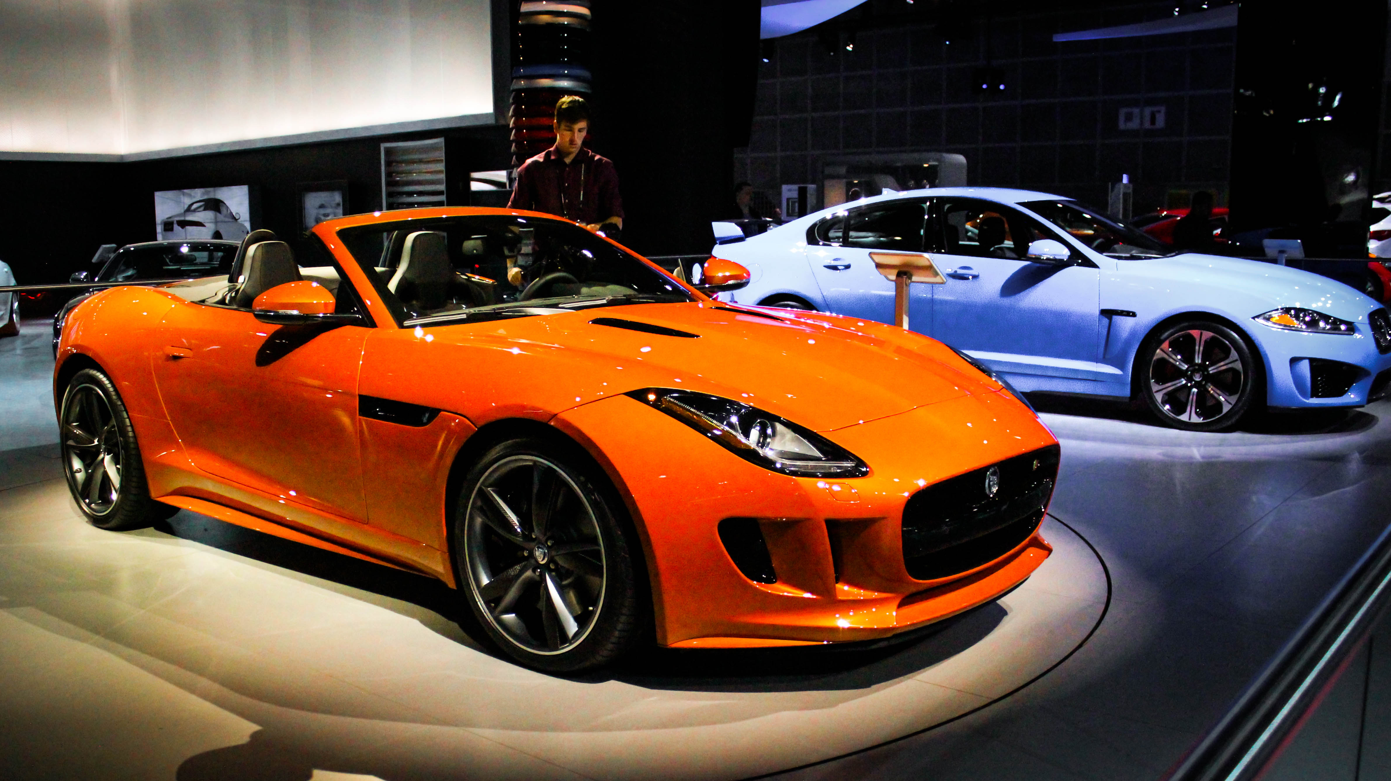 I First Laid Eyes On The New Jaguar F Type Back In November At The 2012 LA  Auto Show. It Was Towards The End Of The Day And I Was Getting Tired.